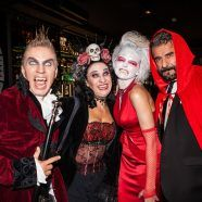 "Susanne Hoffmann feierte mit ihren ""Success Ladies"" schaurige Halloween-Party"