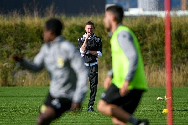 In Sachen Personal wollte sich der Coach am Tag vor dem Match nicht festlegen.