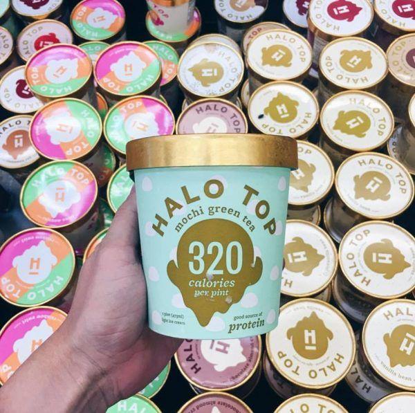 Die gesunde Eiscreme aus Amerika ist in über 30 Geschmacksrichtungen erhältlich.