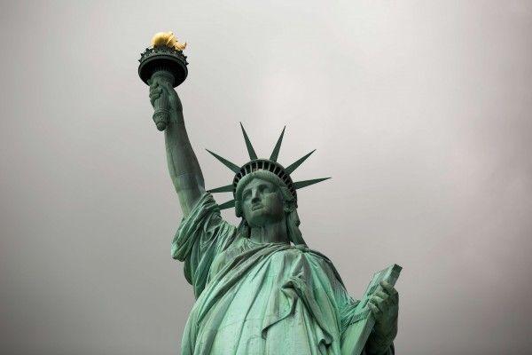 Die Freiheitsstaue ist eine der UNESCO-Welterbestätten in den USA.