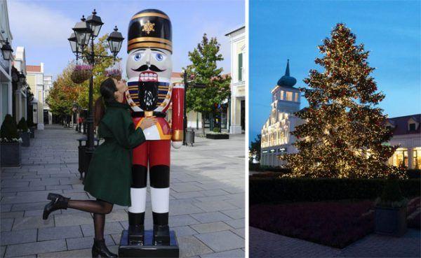 Beim Christmas Late Night Shopping am 9. November feiert das McArthurGlen Designer Outlet Parndorf den Start in die Weihnachtsshoppingsaison