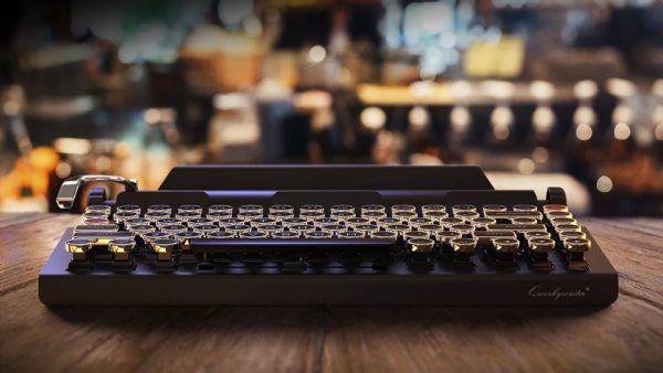 Qwerkywriter ist die Bluetooth-Tastatur für alle Retrofreunde.