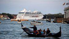 Kreuzfahrten nicht mehr durch Venedigs Altstadt