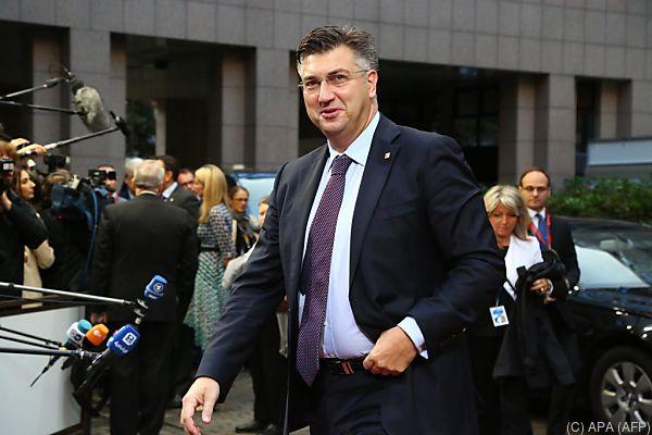 Premier Andrej Plenkovic ist wegen Finanzskandal unter Druck
