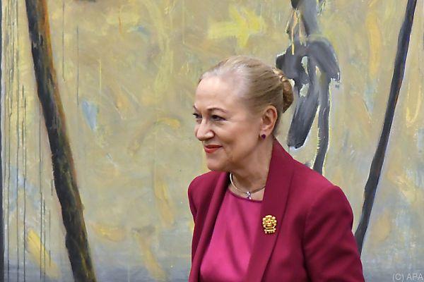 Ex-Außenministerin Benita Ferrero-Waldner