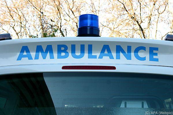 Der Verletzte wurde ins Krankenhaus gebracht
