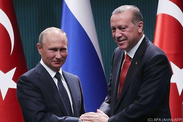 Putin empfängt Erdogan in Sotschi