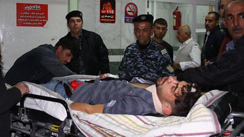 Mehr als 200 Tote bei schwerem Erdbeben im Irak und im Iran