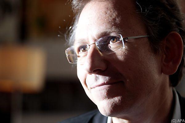 Auch Schriftsteller Doron Rabinovici nahm am Herzl-Abend teil