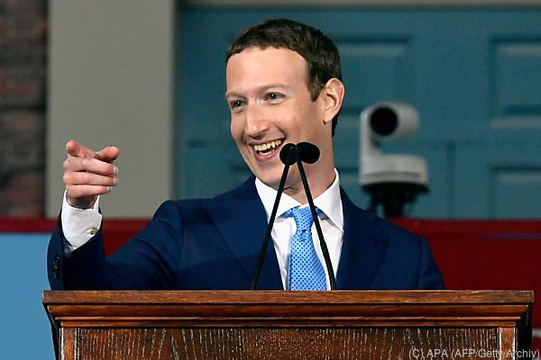 Zuckerberg hilft recht gern
