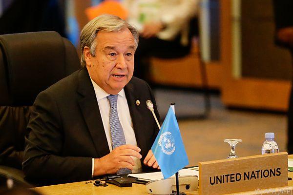 UNO-Generalsekretär Guterres beim ASEAN-Gipfel in Manila