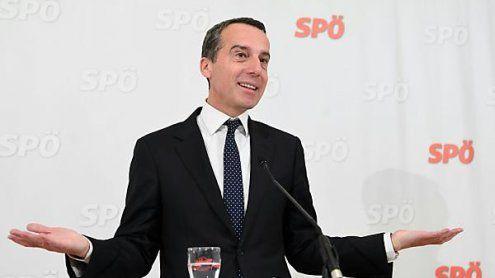 """SPÖ muss laut Kern """"Partei der progressiven Mitte"""" bleiben"""