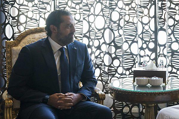 Zurückgetretener Premier Hariri ist noch in Saudi-Arabien