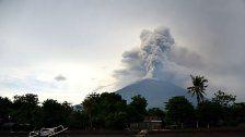 Flughafen auf Bali bleibt wegen Vulkanasche zu