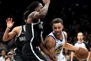 Curry führte Warriors zu 118:111-Erfolg in Brooklyn