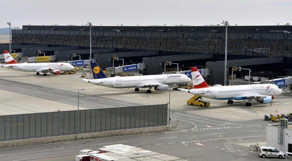 Der Flughafen Wien zeigt sich für den Winter gerüstet