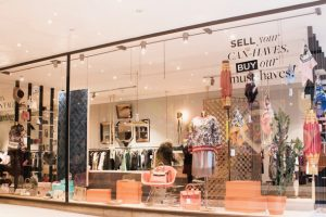 Rebelle Pop-up Store in der Wiener SCS