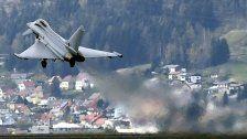 Eurofighter-Flüge im Überschallbereich