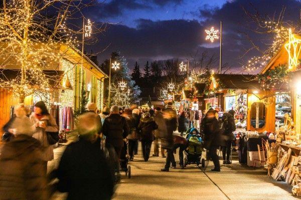 Der Adventmarkt in den Blumengärten Hirschstetten ist immer einen Ausflug wert