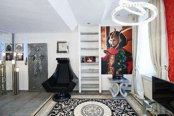 Eine Wohnung in Wien-Erdberg lässt die Herzen von Star Wars Fans höherschlagen