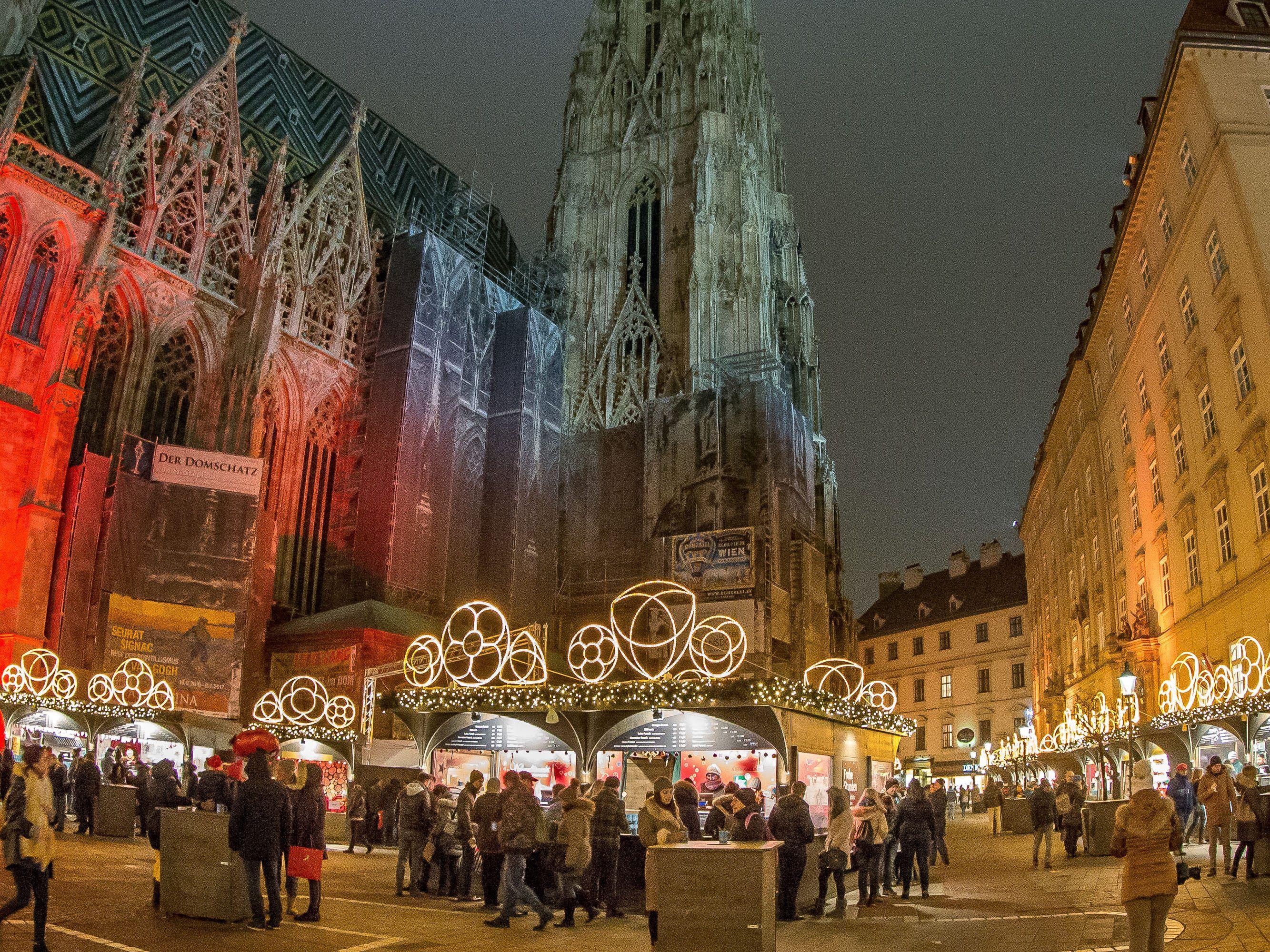 Weihnachtsmarkt Wien Eröffnung.Weihnachtsmarkt Am Wiener Stephansplatz 2017 Alle Infos Im