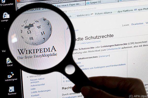 Die Österreicher lieben Wikipedia