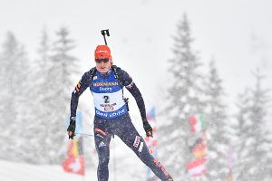 Kuzmina dominierte Biathlon-Sprint in Le Grand Bornand