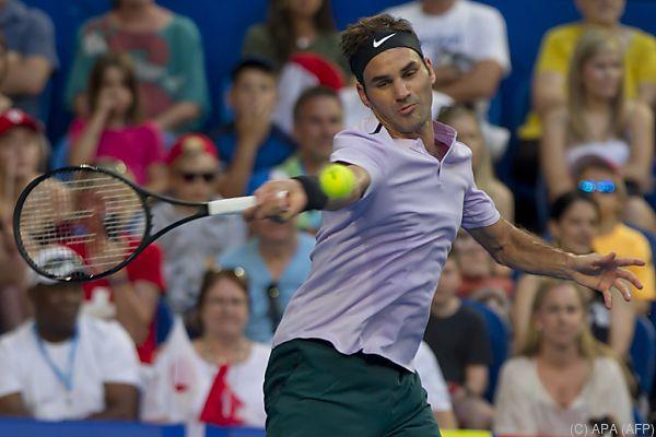 Federer akklimatisiert sich bereits in Australien