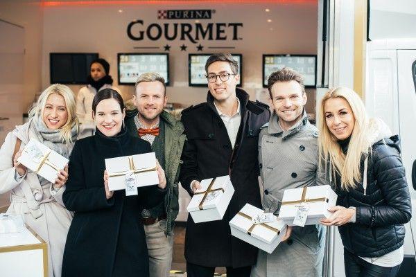 Im Rahmen des Gourmet Adventkalenders gab es Geschenke für Vierbeiner