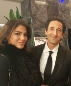 Amina Dagi trifft Hollywood-Star Adrien Brody