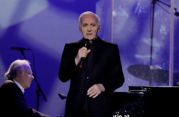 CHarles Aznavour begeisterte sein Wiener Publikum.