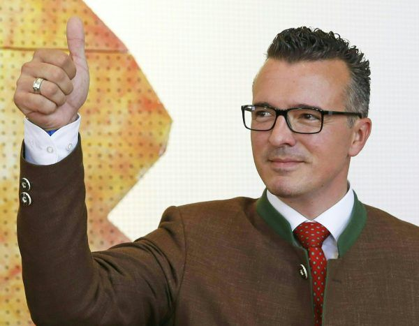 FPÖ-Chef Gernot Darmann führt die FPÖ Kärnten im Wahlkampf an