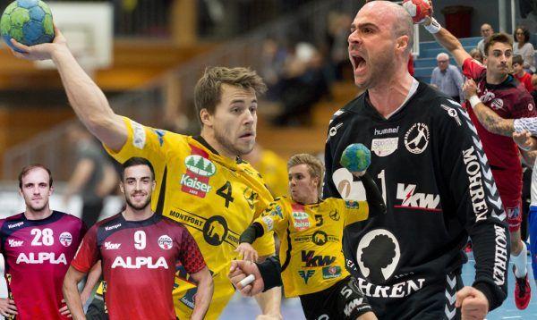 Insgesamt sechs Handballer aus Hard und Bregenz stehen im Kader.