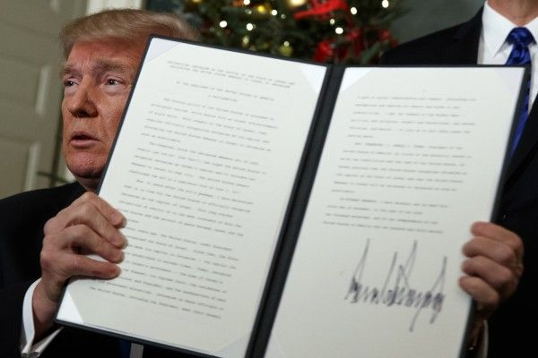 Die USA unter Trump erkennen Jerusalem als Hauptstadt Israels an.