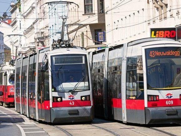 Nach Verkehrsunfall Betrieb Der Wiener Linien 43 Und 44 Gestört