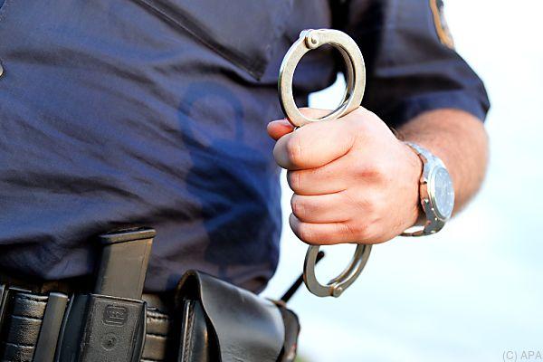 Die Polizei nahm den 35-Jährigen fest