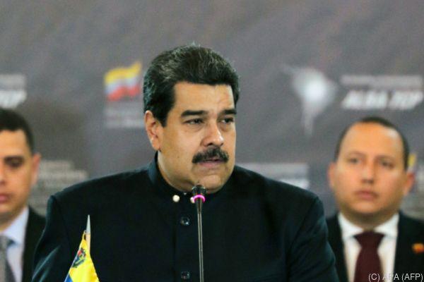 Maduro führte Venezuela in tiefe Krise