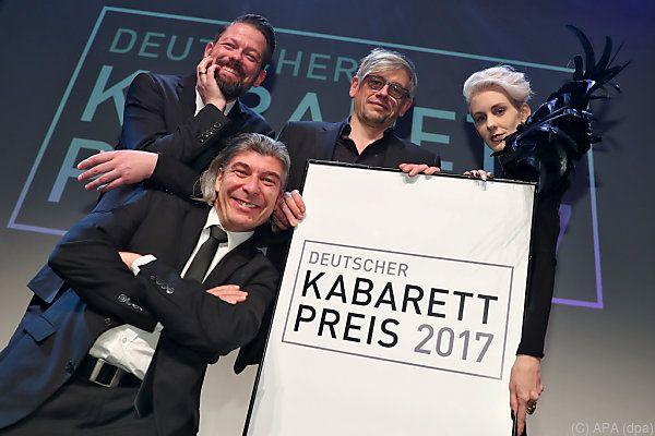 Preisträger: Duo ONKeL fISCH, Mathias Tretter und Lisa Eckhart