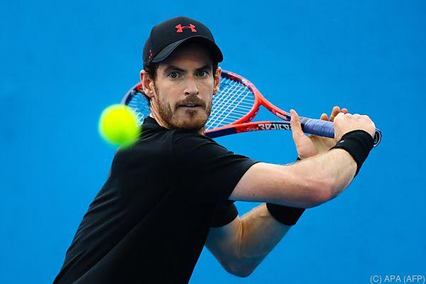 Andy Murray noch nicht vollständig wiederhergestellt