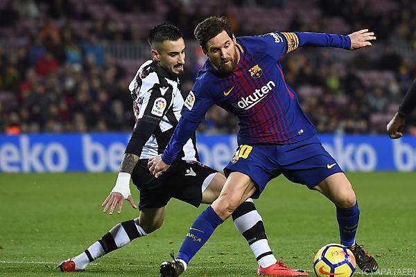 Messi traf auch in seinem 400. Primera-Division-Spiel