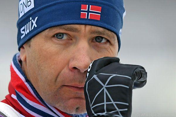 Ole Einar Björndalen kann seinen Rekord nicht ausbauen