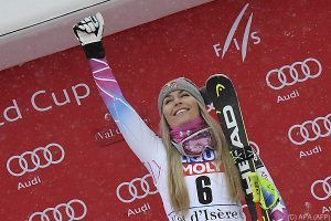 Trainings-Dominatorin Vonn haushohe Cortina-Favoritin
