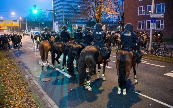 Die Organisation Pfotenhilfe kritisiert eine berittene Polizei scharf.