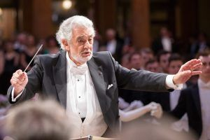 Superstar Placido Domingo dirigierte am Wiener Philharmonikerball