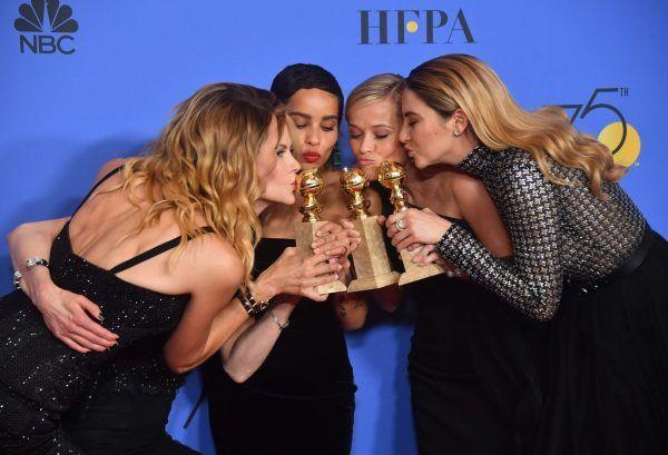 Hier sehen Sie alle Bilder der Golden Globes 2018.