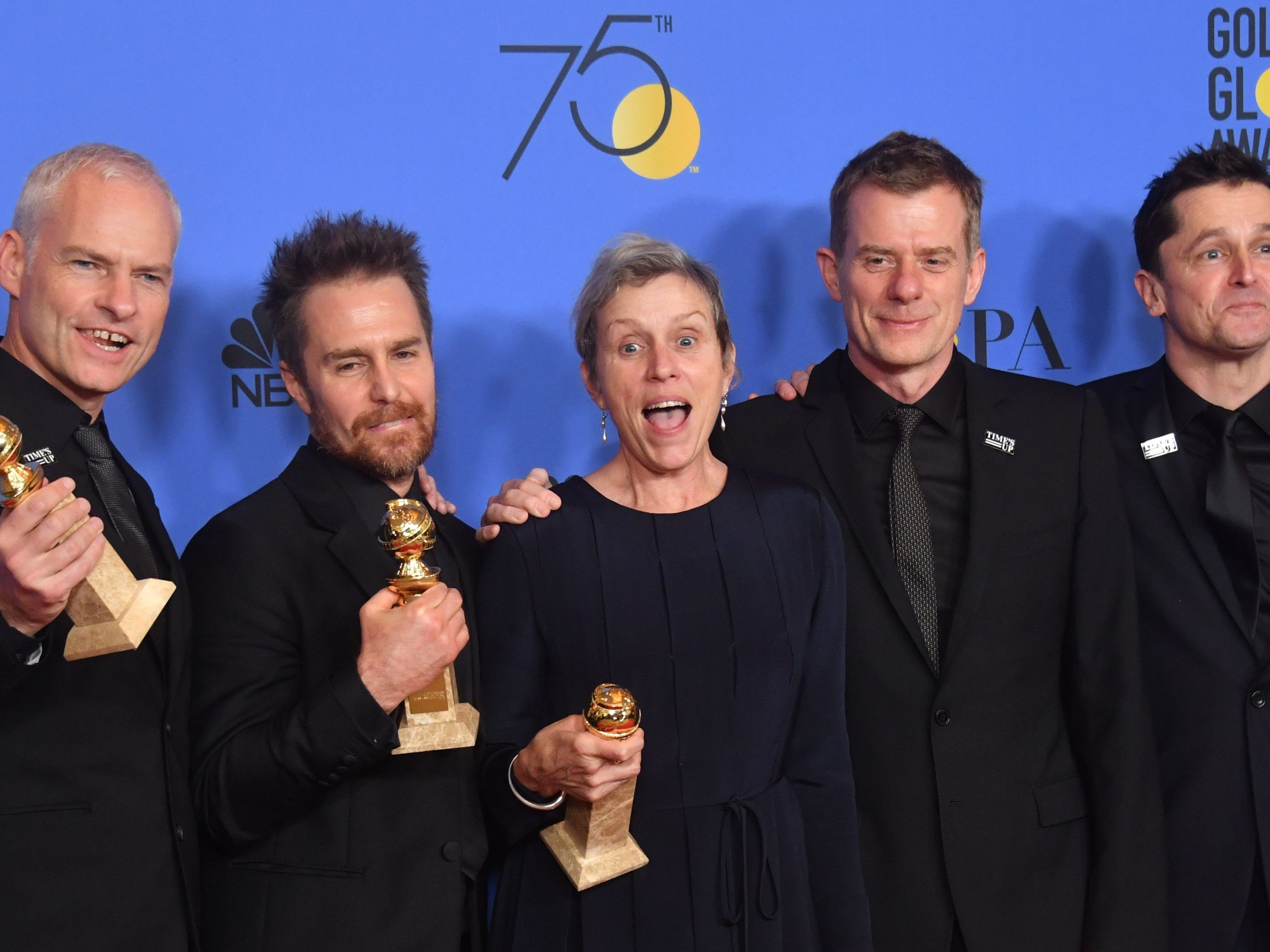 "Der Film ""Three Billboards Outside Ebbing"" war bei den Golden Globes erfolgreich."