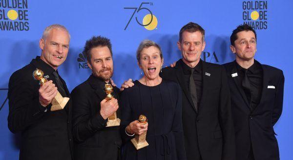 """Der Film """"Three Billboards Outside Ebbing"""" war bei den Golden Globes erfolgreich."""