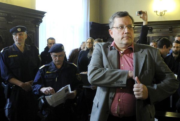 Gottfried Küssel wurde wegen Wiederbetätigung zu knapp acht Jahren Haft verurteilt.