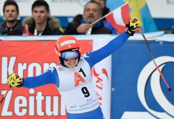 Federica Brignone hat das erste Ski-Rennen des Wochenendes bei den Alpin-Damen in Bad Kleinkirchheim gewonnen.