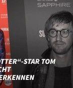 """""""Harry Potter""""-Star Tom Felton nicht wiederzuerkennen"""